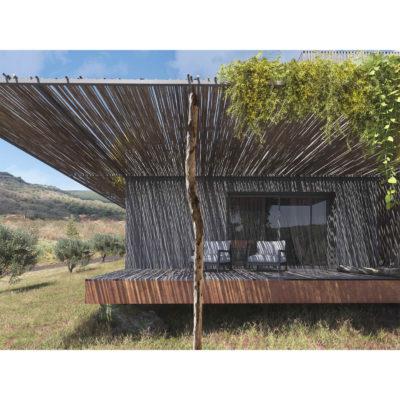 maison ossature bois - vue 3D